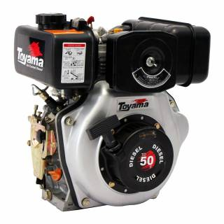 Motor Toyama TDE110 Diesel 418Cc 3600 RPM 10,5 HP P. Manual