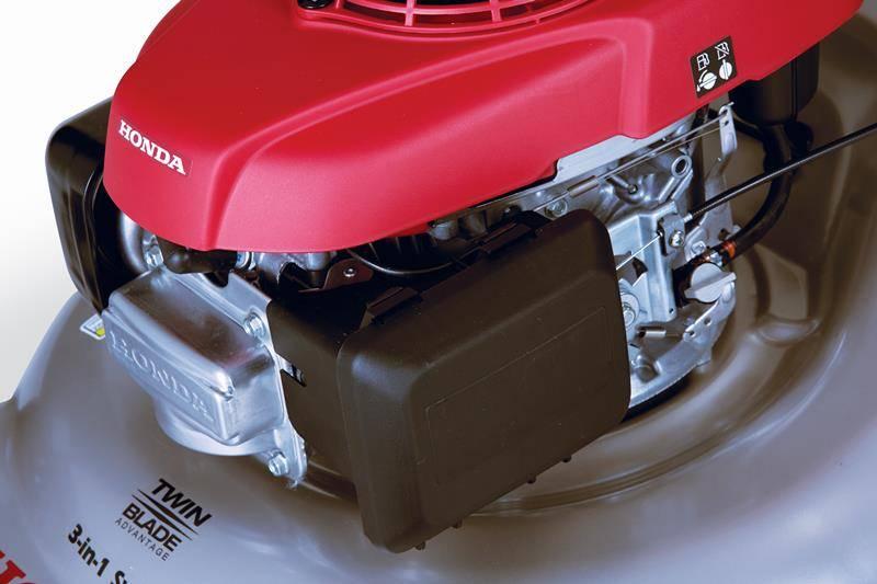 Cortador de Grama HRR Honda Gasolina com embreagem, 2 facas - Hs Floresta e Jardim