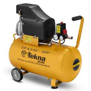 Compressor de Ar Tekna CP8550B Bivolt 2Hp 50litros 8BAR 116P