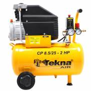 Compressor de Ar Tekna CP8525 110V 2Hp 24litros 8BAR 116Psi