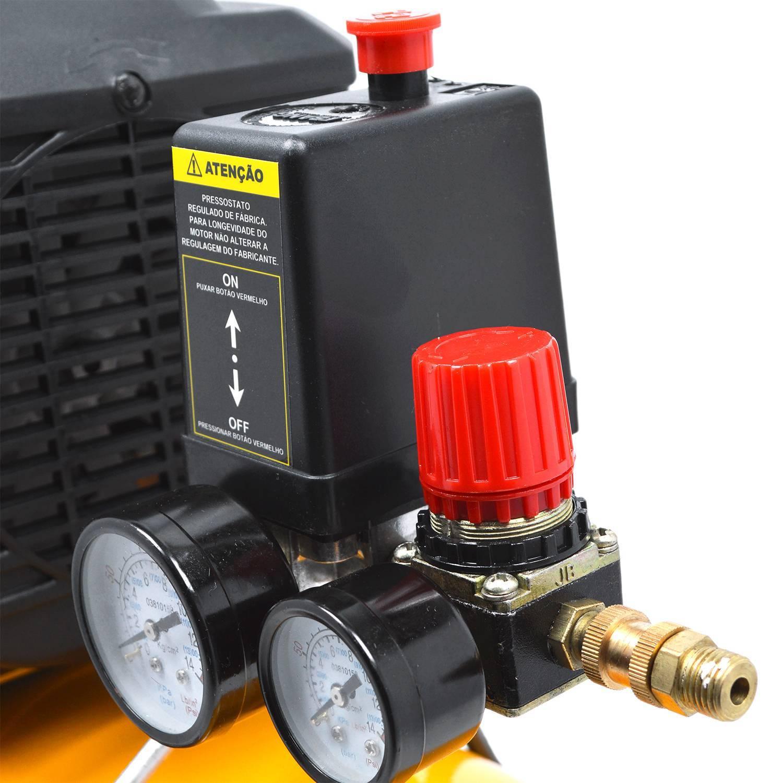 Compressor de Ar Tekna CP8525 110V 2Hp 24litros 8BAR 116Psi - Hs Floresta e Jardim