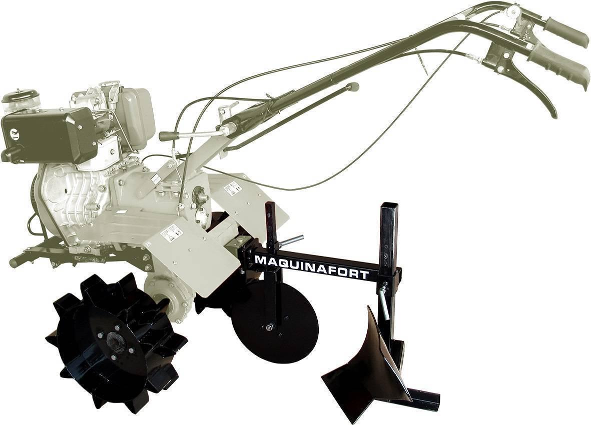 Arado de Aiveca AA-700 p/ Motocultivadores Diesel 8,5 a 10cv - Hs Floresta e Jardim