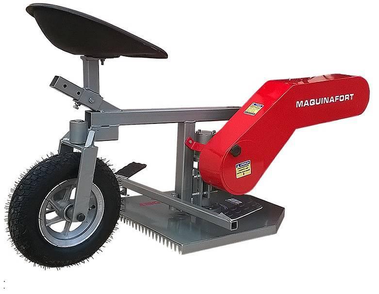 Aparador Grama Traseiro AGT-500 p/ motocultivador Kawashima  - Hs Floresta e Jardim