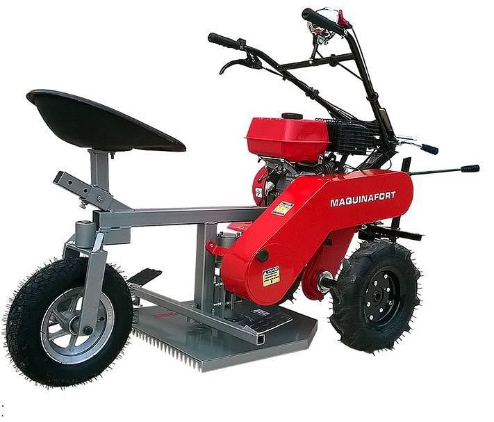 Aparador Grama Traseiro AGT-500 p/ Motocultivador Buffalo BF - Hs Floresta e Jardim