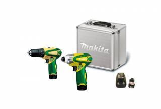 Kit Furadeira e parafusadeira Makita LCT2016 à bateria 12V