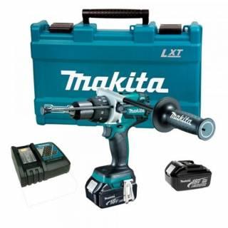 Furadeira de impacto c/ Maleta MakitaDHP481RFE bater
