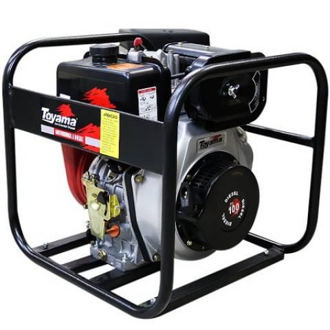 Motobomba toyama Diesel P. elétricaTDC25N10BE2 1/2'x2 1/2'