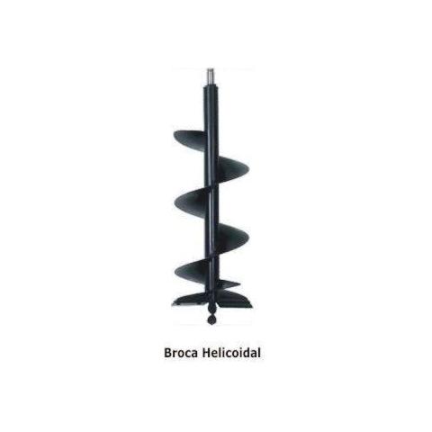 Broca helicoidal 200mmx1000mm perfurador solo BRISTOL PS-10