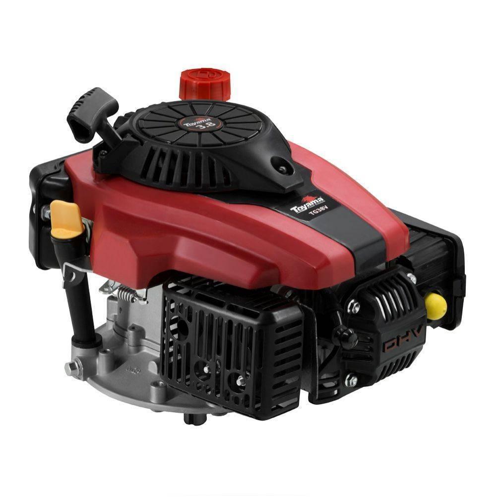 Motor Toyama TE38V a Gasolina 4T Eixo vertical 3,5HP 3600RPM - Hs Floresta e Jardim