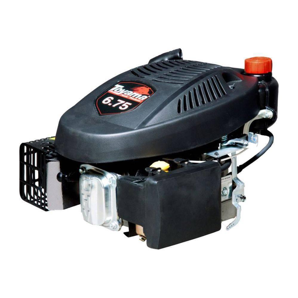 Motor Toyama TE67V-1 Gasolina 4T Eixo Longo vertical 6,75HP - Hs Floresta e Jardim