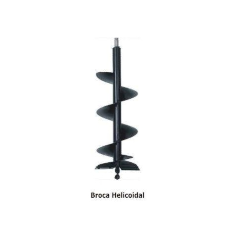 Broca helicoidal 100mmx1000mm perfurador BRISTOL PS-10/PS-06