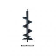 Broca helicoidal 100mmx1000mm p/ perfurador de solo BRISTOL PS-10 e PS-06