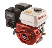 "Motor BRANCO 6,5HP 4T eixo 3/4"" P. Manual eixo Horizontal"