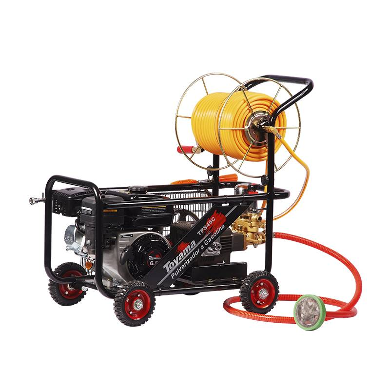 Pulverizador Toyama GasolinaTPS45C6,5 HP 4 Tempos Completo - Hs Floresta e Jardim