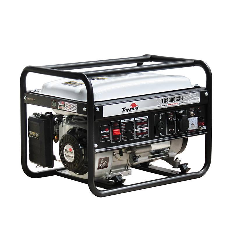 Gerador Gasolina ToyamaTG3000CXH Monofásico6,5HP 4T196cc