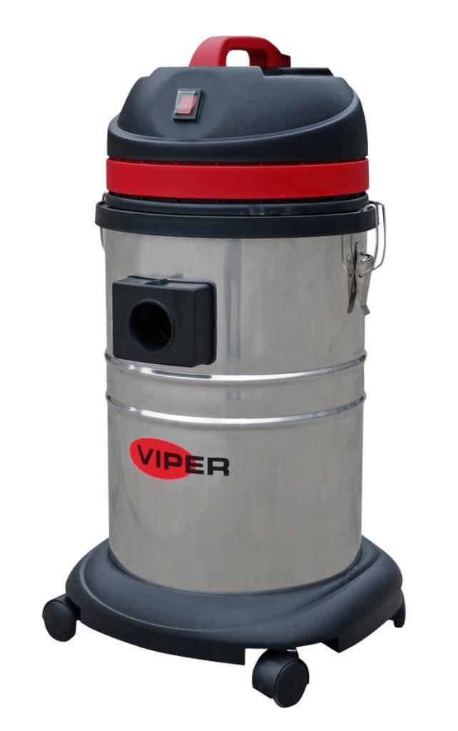 Aspirador de Pó Viper LSU135 Elétrico 220V 1000W INOX  - Hs Floresta e Jardim