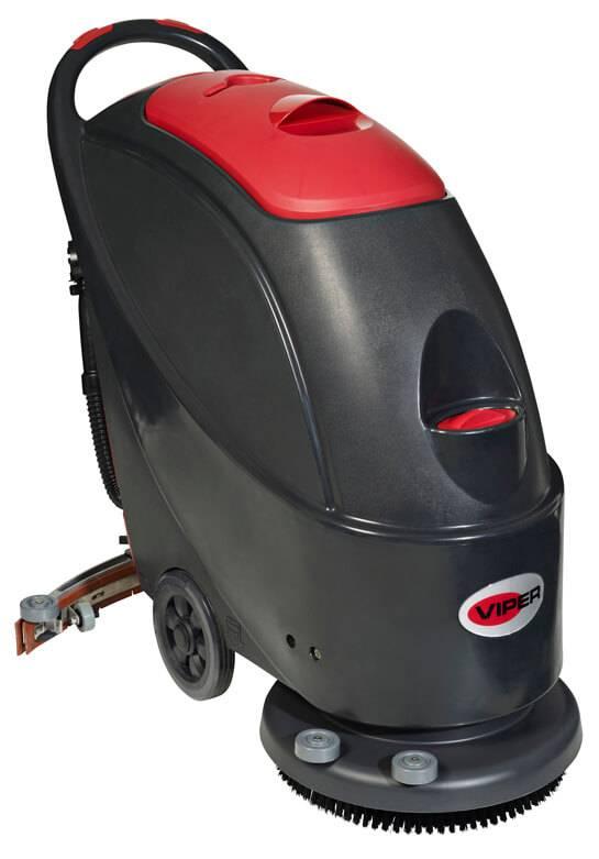 Lavadora de Pisos a Bateria Viper AS510B 650W Autonomia 2:20 - Hs Floresta e Jardim
