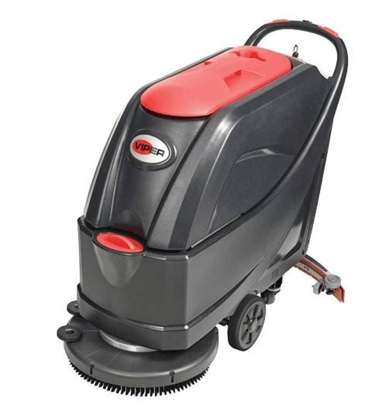 Lavadora de Pisos Viper a Bateria AS5160 450W Autonomia 2:50 - Hs Floresta e Jardim