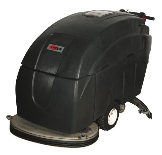 Lavadora de Pisos Viper Bateria FANG32T 740W Autonomia 4:50 - Hs Floresta e Jardim