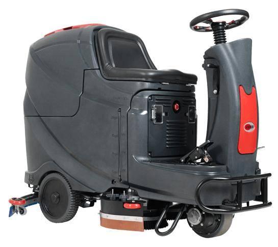 Lavadora de Pisos Viper Tripulada AS710R 500W autonomia 3:30 - Hs Floresta e Jardim