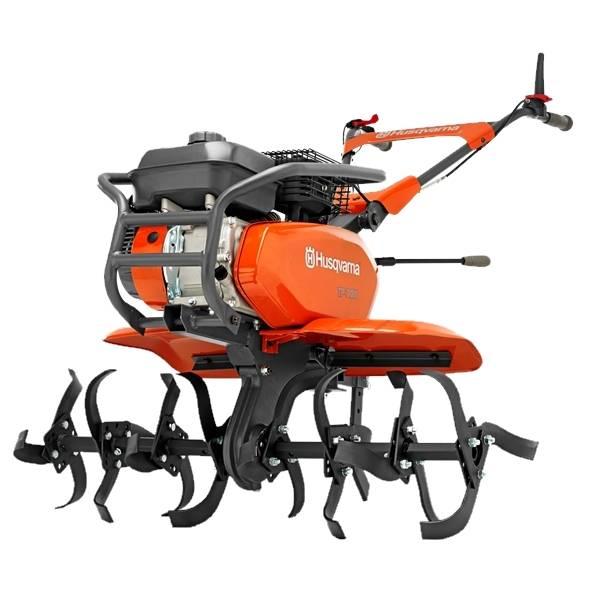Motocultivador Husqvarna TF338 gasolina  212 Cc 95 Cm corte - Hs Floresta e Jardim