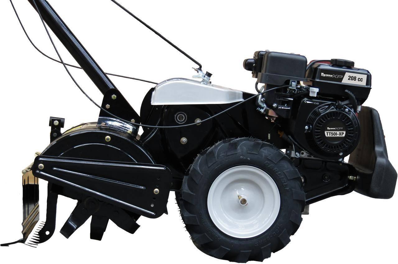 Motocultivador à Gasolina Toyama TT50I-XP7 hp Roda 16