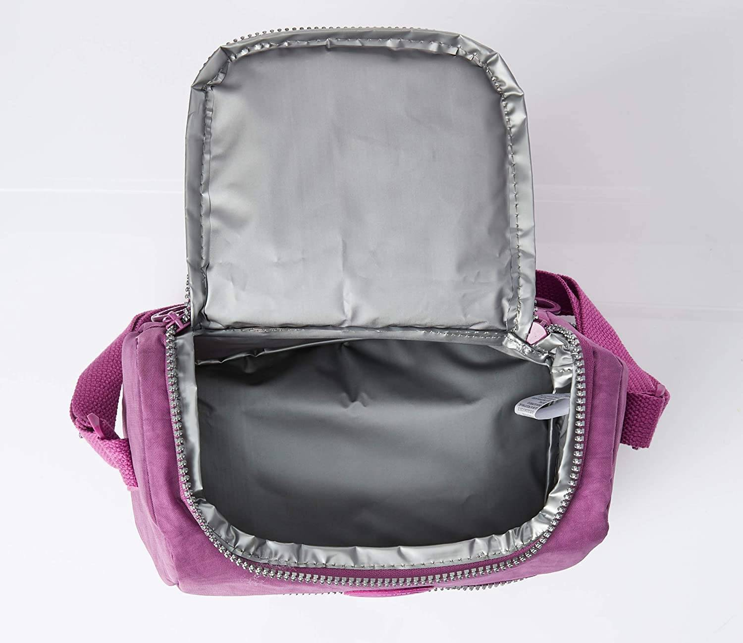 BOLSA TÉRMICA / LANCHEIRA TACTEL UP4YOU ORIGINAL - ROXA - PRIMEIRA CLASSE MALAS