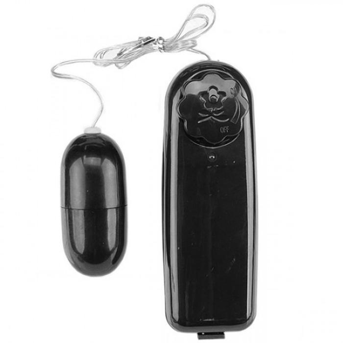 Vibrador Bullet Multivelocidades Preto - SEX SHOP CURITIBA