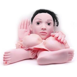 Boneca Inflável Realística Mãos e Pés