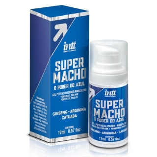 SUPER MACHO INTT GEL POTENCIALIZADOR MASCULINO 17 ML