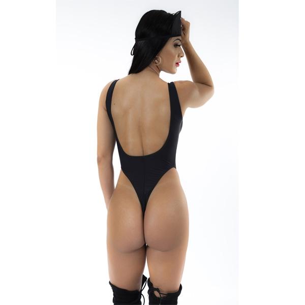 Body Xerife Pimenta Sexy COR PRETO - SEX SHOP CURITIBA