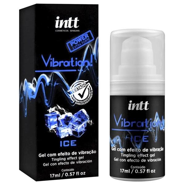 Vibration INTT Ice Vibrador Liquido 17g Extra Forte - SEX SHOP CURITIBA