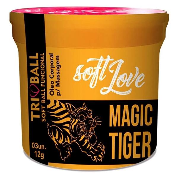 Bolinha Explosiva Magic Tiger Tribal Soft Love - SEX SHOP CURITIBA