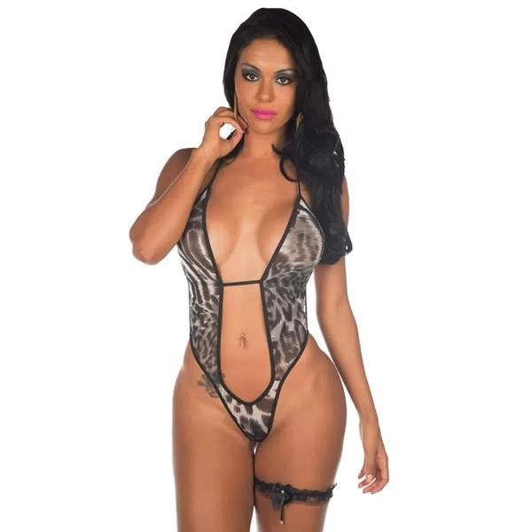 Fantasia Body Mini Felina Pimenta Sexy - SEX SHOP CURITIBA