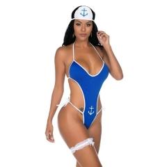Fantasia Body Marinheira com Persex Pimenta Sexy