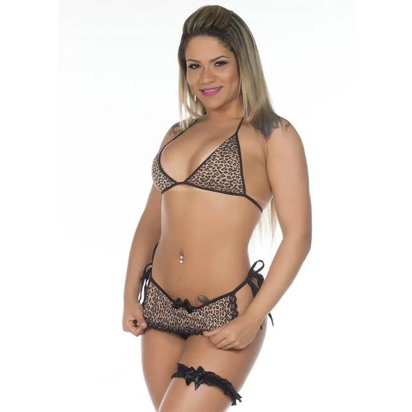 Fantasia Mini Oncinha de Sainha Pimenta Sexy - SEX SHOP CURITIBA