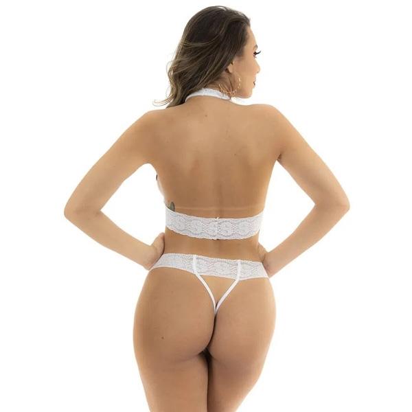 Fantasia Mini Capô de Fusca Branca Pimenta Sexy - SEX SHOP CURITIBA