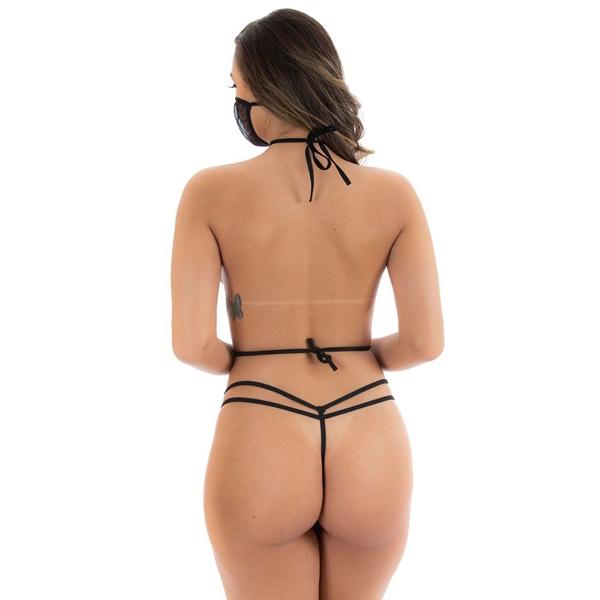 Fantasia Ninja Safadinha VERMELHA Pimenta Sexy - SEX SHOP CURITIBA
