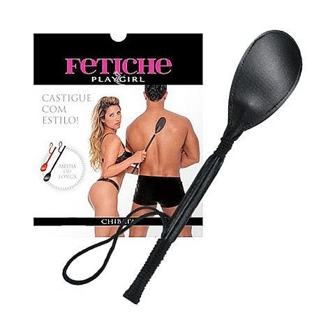 Chibata Longa Preta 45cm - Fetiche Play Girl - SEX SHOP CURITIBA