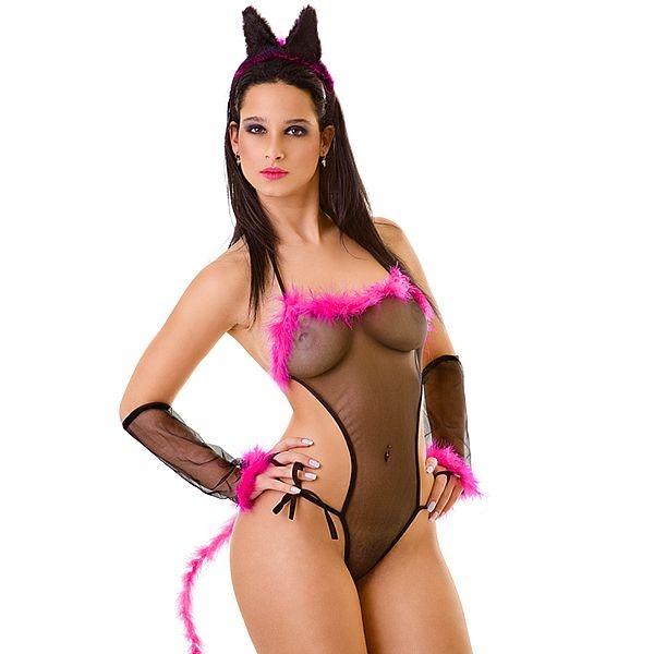 Fantasia sensual Pantera Negra - SEX SHOP CURITIBA