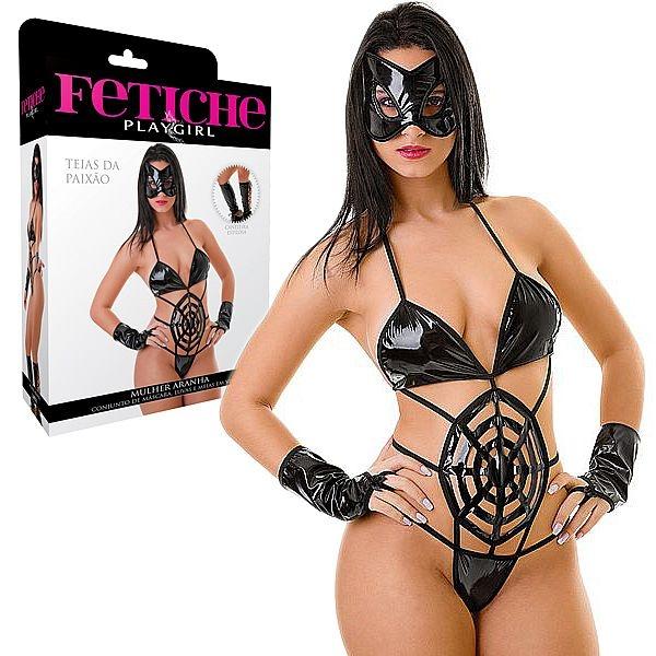 Fantasia Erótica Mulher Aranha - SEX SHOP CURITIBA