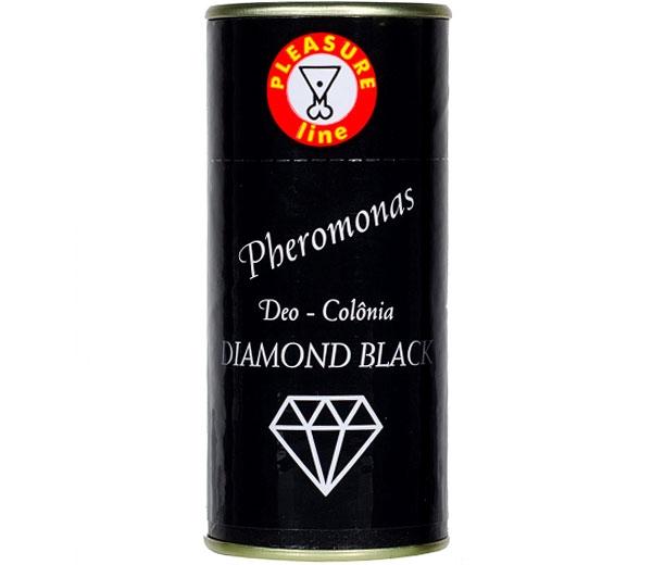 Perfume Feromônio Diamond Black Pleasure Line - SEX SHOP CURITIBA