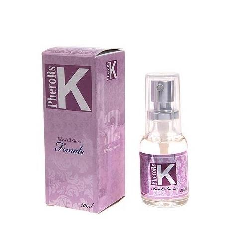 Perfume By K Female 20ml com Feromônio - Atrai os homens - SEX SHOP CURITIBA