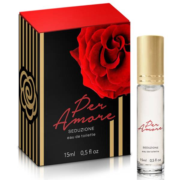 Perfume Per Amore-Seduzione feromônio 15ml - INTT - SEX SHOP CURITIBA