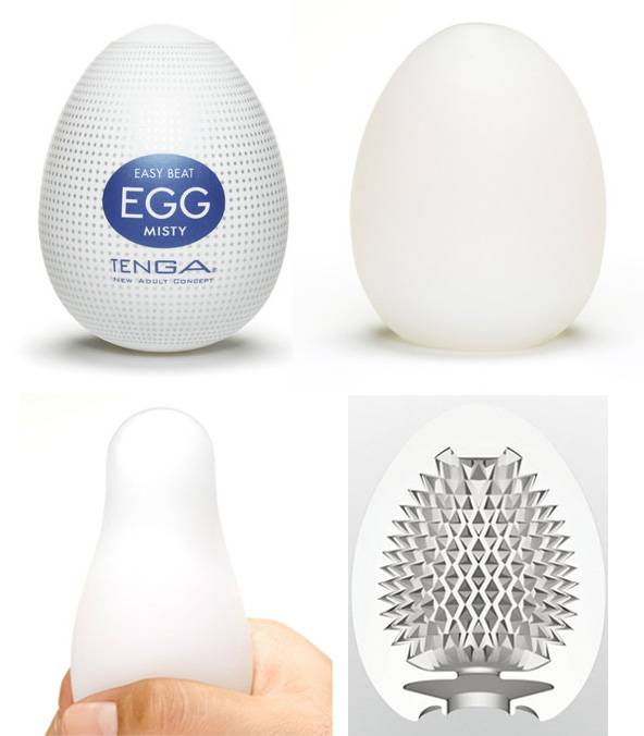 Masturbador Tenga Egg Misty - Masturbador em Silicone - SEX SHOP CURITIBA