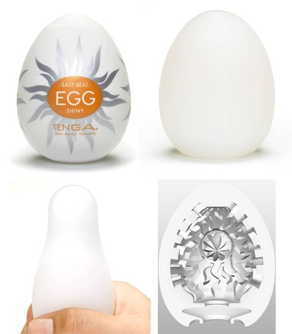 Masturbador Tenga Egg Shiny - Masturbador em Silicone - SEX SHOP CURITIBA