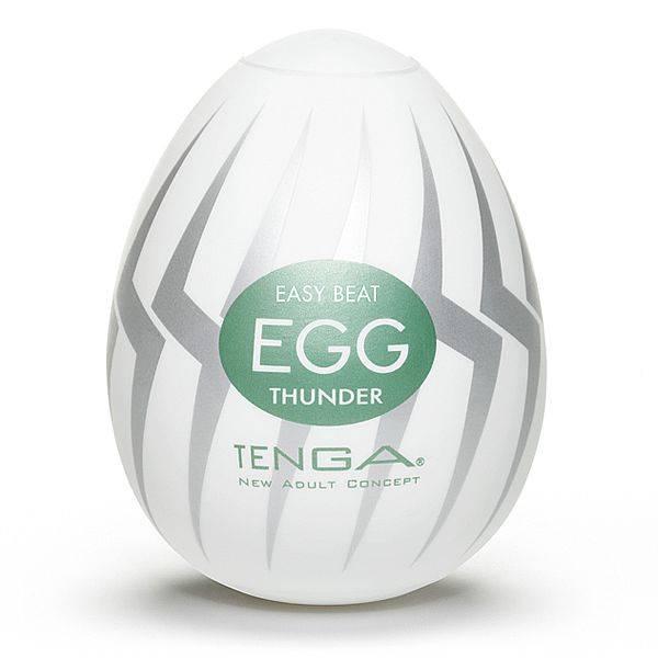 Masturbador Tenga Egg Thunder - Masturbador em Silicone - SEX SHOP CURITIBA