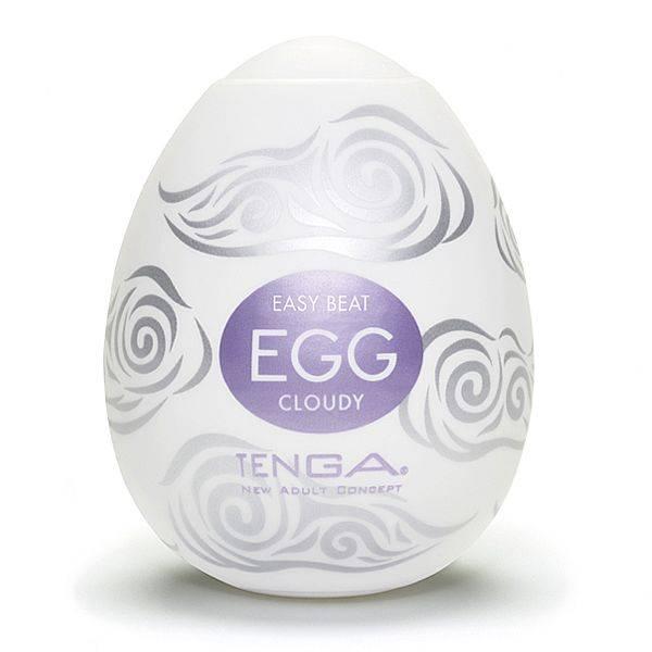 Masturbador Tenga Egg Cloudy - Masturbador em Silicone - SEX SHOP CURITIBA