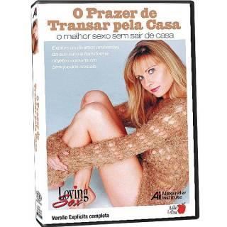 DVD Erotico O Prazer de Transar pela Casa - Coleção Amor e Sexo