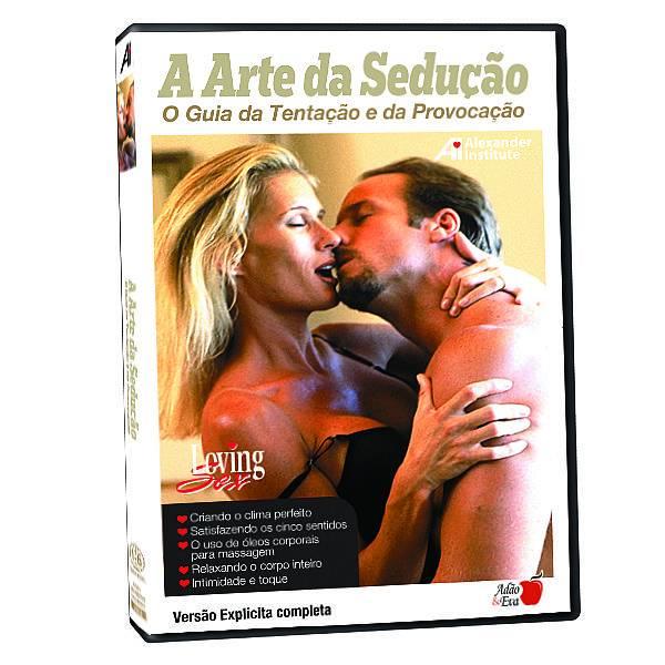 DVD Erotico A Arte da Sedução O Guia da Tentação e da Provocação - Coleção Amor e Sexo - SEX SHOP CURITIBA